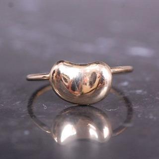 ティファニー(Tiffany & Co.)のTIFFANY&Co. ティファニー ビーンズ リング 指輪 K18 YG(リング(指輪))