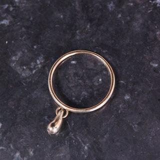 ティファニー(Tiffany & Co.)のTIFFANY&Co. ティファニー ティアドロップ ブラ K18 YG リング(リング(指輪))