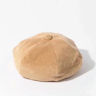 ビームスボーイ(BEAMS BOY)のbeams boyベレー帽 ハンチング 帽子  コーデュロイ(ハンチング/ベレー帽)