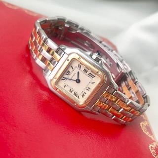 Cartier - 美品✨カルティエ Cartier パンテール2ロウ  コンビ 腕時計レディース
