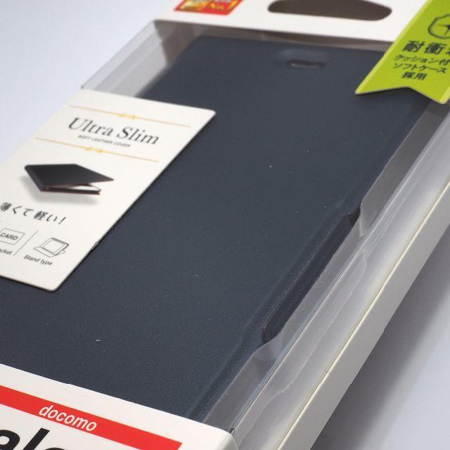 Galaxy Feel2 SC-02L 用 手帳型ケース ネイビー スマホ/家電/カメラのスマホアクセサリー(Androidケース)の商品写真