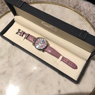 ガガミラノ(GaGa MILANO)のガガミラノ❤︎マヌアーレ❤︎ベルト3つ付き(腕時計)
