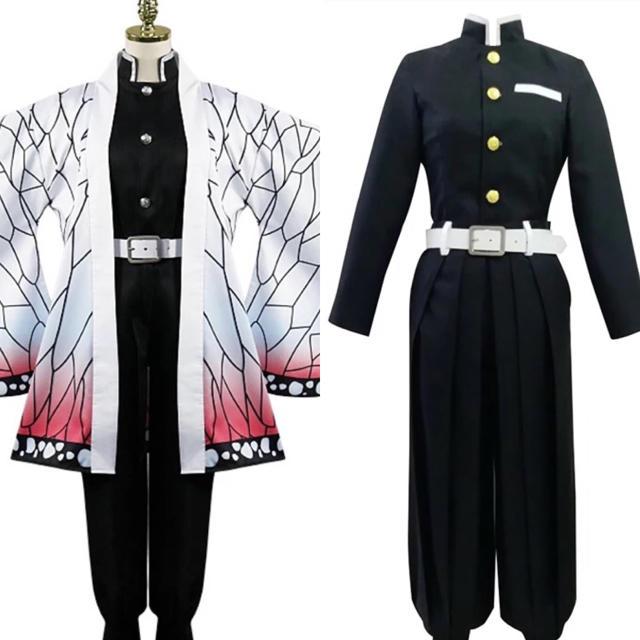 鬼滅の刃 しのぶコスプレ コスチューム エンタメ/ホビーのコスプレ(衣装)の商品写真