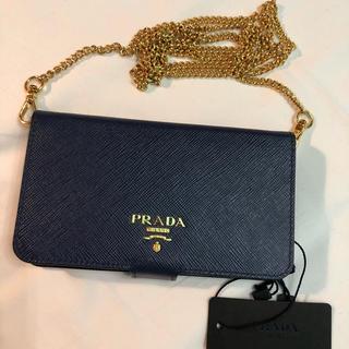 PRADA - 新品!プラダ サフィアーノ iPhone6 ショルダー ケース