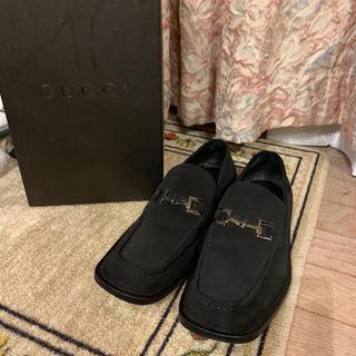 Gucci - 美品 Gucci グッチ ドレスシューズ ローファー 革靴 サイズ41 1/2E