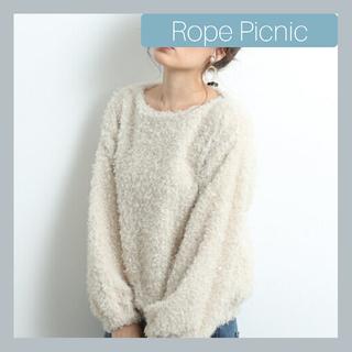 ロペピクニック(Rope' Picnic)のロペピクニック モコモコフェイクファープルオーバー(ニット/セーター)