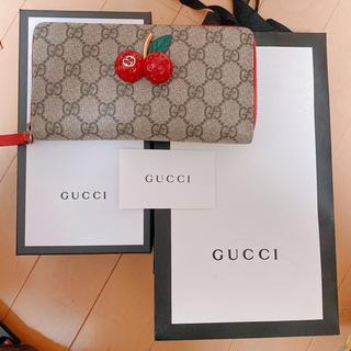 Gucci - GUCCI 長財布 【保証書付き】