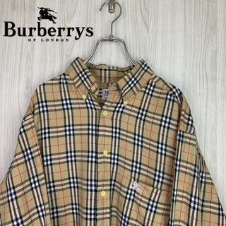 BURBERRY - ☆激レア☆Burberry's バーバリー 長袖シャツ ノバチェック柄