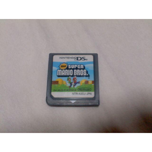 ニンテンドーDS(ニンテンドーDS)のDS / ニュースーパーマリオブラザーズ エンタメ/ホビーのゲームソフト/ゲーム機本体(携帯用ゲームソフト)の商品写真