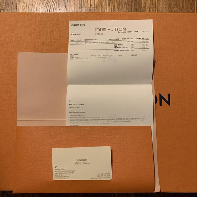 LOUIS VUITTON(ルイヴィトン)のLOUIS VUITTON マフラー(箱なし発送) レディースのファッション小物(マフラー/ショール)の商品写真