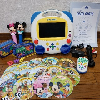Disney - ディズニーえいごシステム DVDメイト  ワールドファミリー DWE