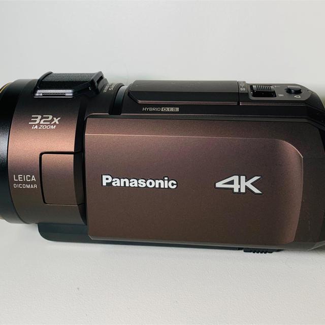 Panasonic(パナソニック)のvx1m Panasonic 4k ビデオカメラ ワイコンレンズ付き 美品 スマホ/家電/カメラのカメラ(ビデオカメラ)の商品写真
