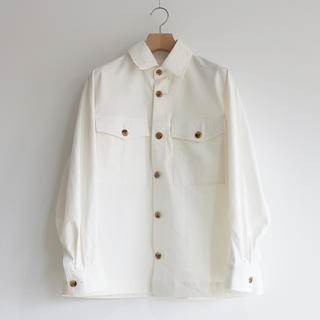 SUNSEA - URU  COTTON SHIRTS JACKET