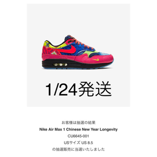 NIKE - Nike Air Max 1 CNY Longevity 2020 26.5cm