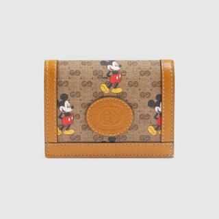 Gucci - GUCCI ミッキー 折り畳み財布