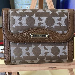 ハマノヒカクコウゲイ(濱野皮革工藝/HAMANO)のHAMANO 二つ折財布(財布)