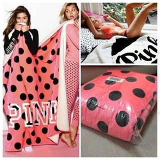 Victoria's Secret - PINK ピンクドットソフトブランケット