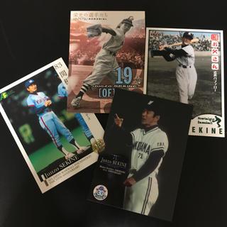 トウキョウヤクルトスワローズ(東京ヤクルトスワローズ)の3球団 4枚 関根潤三 プロ野球カード (スポーツ選手)