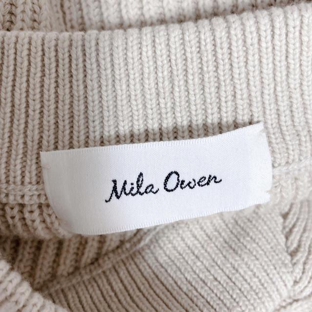 Mila Owen(ミラオーウェン)のミラオーウェン ニット リボン レディースのトップス(ニット/セーター)の商品写真