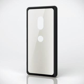 エレコム(ELECOM)のXperia XZ3(SO-01L/SOV39)用ハイブリッドケース ホワイト(Androidケース)