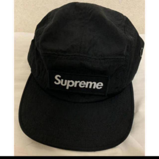 Supreme(シュプリーム)の17fw 黒 supreme ナイロンキャップ  メンズの帽子(キャップ)の商品写真