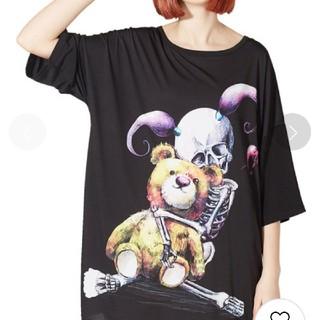 アンコロック(ankoROCK)のアンコロック tシャツ ワンピ(Tシャツ(半袖/袖なし))