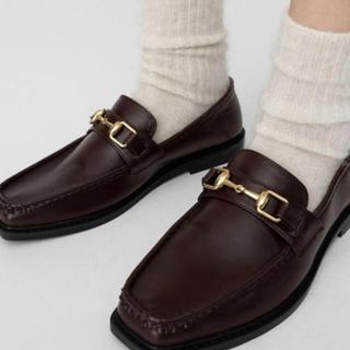 マウジー(moussy)のmoussy _ ビットローファー L(ローファー/革靴)
