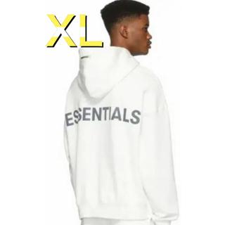 フィアオブゴッド(FEAR OF GOD)のFOG Essentials  エッセンシャルズパーカー ホワイト 白 XL(パーカー)