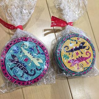 カルディ(KALDI)のカルディ カカオの森 トカゲ缶(菓子/デザート)