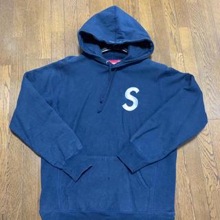 Supreme - supreme Slogo Hooded Sweatshirt