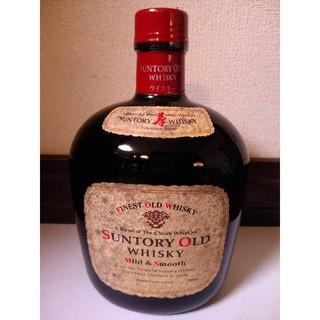 サントリー(サントリー)の古酒 サントリーオールド mild & smooth だるま タヌキ(ウイスキー)