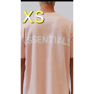 フィアオブゴッド(FEAR OF GOD)のFOG Essentials  エッセンシャルズ Tシャツ ピンク XS(Tシャツ/カットソー(半袖/袖なし))