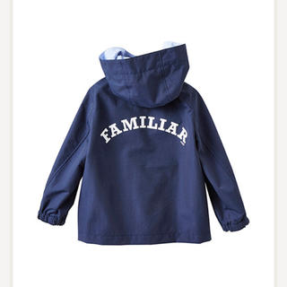 familiar - 美品 ファミリア   春物 ナイロンジャンパー 100 定価21600円