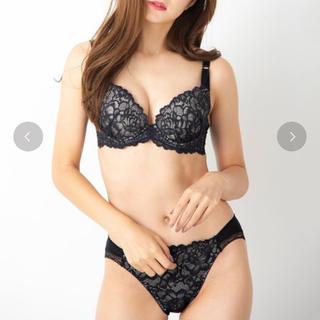 アンフィ(AMPHI)のfran de lingerie セット(ブラ&ショーツセット)