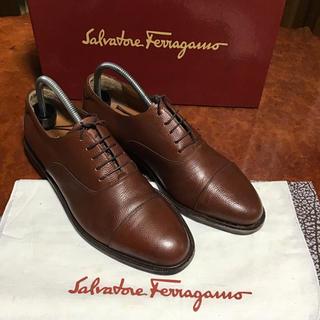 Salvatore Ferragamo - サルバトーレ フェラガモ メンズシューズ ストレートチップ イタリア製