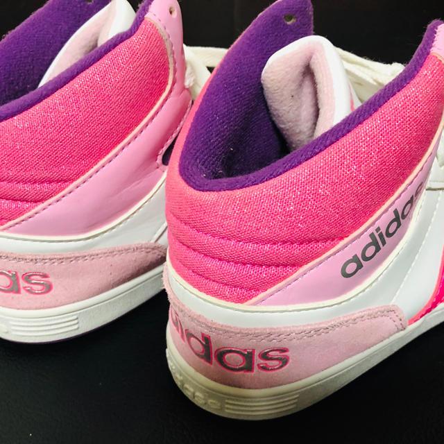 adidas(アディダス)のさや様専用 adidas ハイカットスニーカー 23.5cm レディースの靴/シューズ(スニーカー)の商品写真