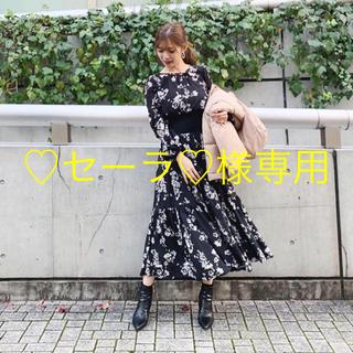 rienda - リエンダ新作花柄ワンピース