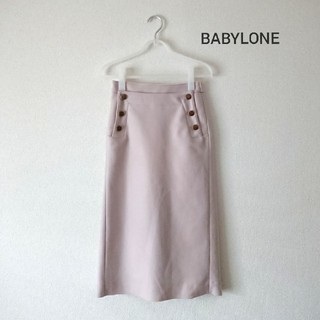 BABYLONE - BABYLONE・マリアボタン タイトスカート