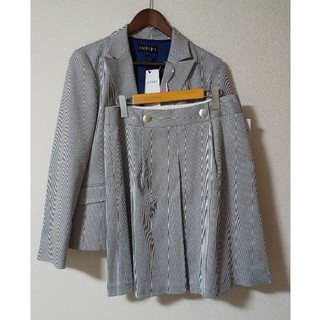 INDIVI - INDIVI 新品スカートスーツ サイズXL