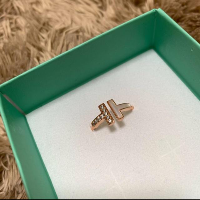 Tiffany & Co.(ティファニー)のTiffany & Co. Tリング レディースのアクセサリー(リング(指輪))の商品写真