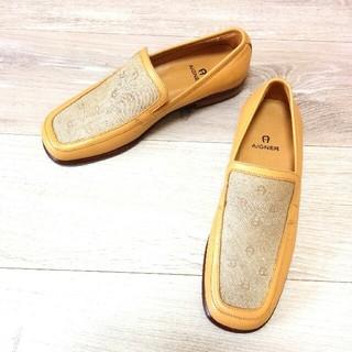アイグナー(AIGNER)の【AIGNER レザー ローファー】アイグナー 靴 レディース(ローファー/革靴)