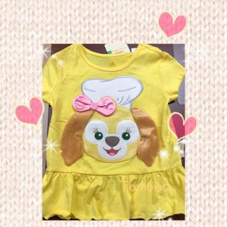 Disney - ラスト❗️香港ディズニー限定 クッキー キッズ チュニックTシャツ キッズM