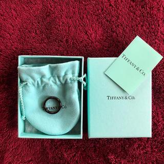 ティファニー(Tiffany & Co.)の【TIFFANY&Co.】1837 ナロー ブラックチタン リング(リング(指輪))