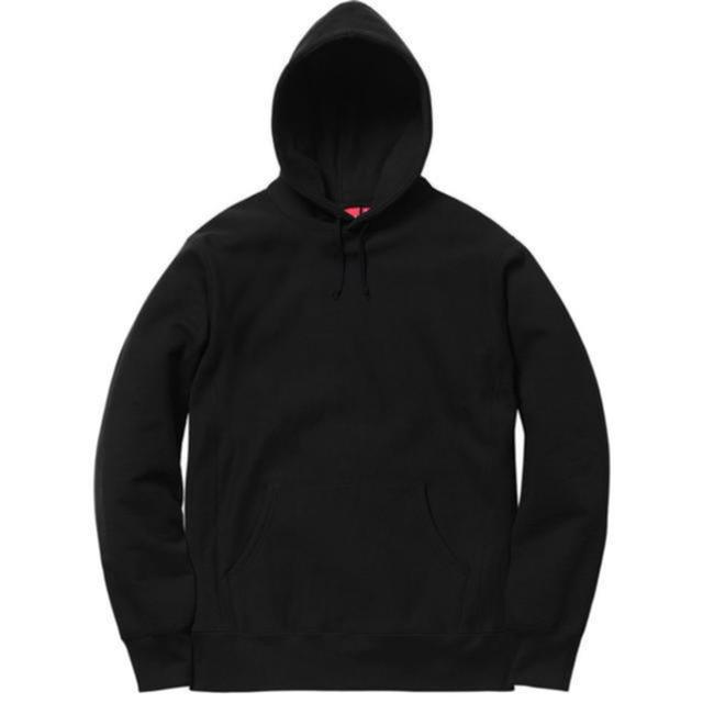 Supreme(シュプリーム)の【S】Supreme Studded Hooded Sweatshirt 黒 メンズのトップス(パーカー)の商品写真