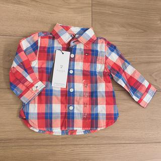 トミーヒルフィガー(TOMMY HILFIGER)のトミーヒルフィガー キッズ ベビー チェックシャツ(シャツ/カットソー)