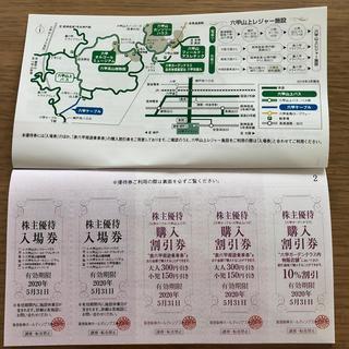 阪急阪神 グループ優待券 1冊(遊園地/テーマパーク)