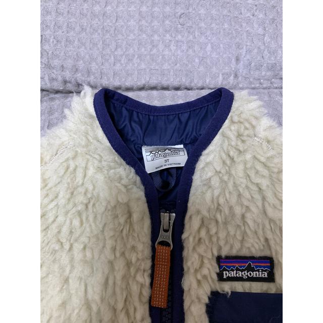 patagonia(パタゴニア)のパタゴニア キッズ 3T キッズ/ベビー/マタニティのキッズ服男の子用(90cm~)(ジャケット/上着)の商品写真