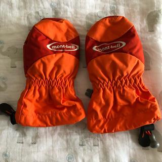 モンベル(mont bell)のモンベル mont bell手袋 2-3歳 ミトン 雪遊び スキー スノーボード(手袋)