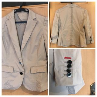 ダブルスタンダードクロージング(DOUBLE STANDARD CLOTHING)のダブルスタンダード  ベージュジャケット36(テーラードジャケット)