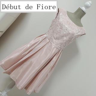 Debut de Fiore - デビュードフィオレ フォーマルワンピース シャンタン レース ピンク